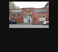 Ghost Signs:  Hardware Store in Redwood City, CA Unisex T-Shirt