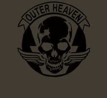 Outer Haven Logo Black Unisex T-Shirt