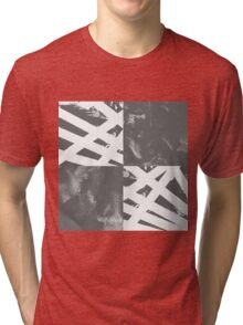 Which Way? - Black and White Tri-blend T-Shirt