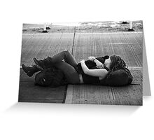 Held Tightly Greeting Card