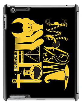 Totally Awesome! *HUFFLEPUFF/ON BLACK* by mcgani