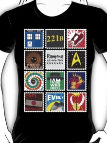 Nerd's Stamp Collection: Organized T-Shirt