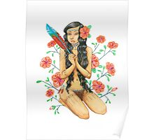 Tropical Princess Poster