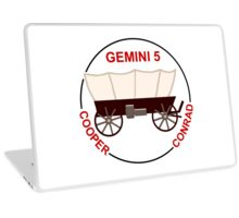 Gemini 5 Mission Logo Laptop Skin