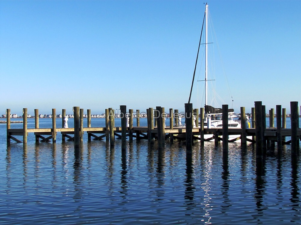 Downtown Manteo, North Carolina by Alberto  DeJesus