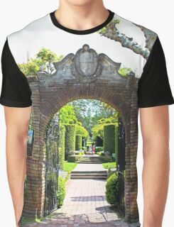 Archway at Filoli Gardens Graphic T-Shirt