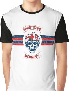 Sportster Sickness - Custom UK Graphic T-Shirt
