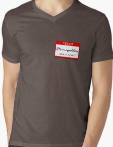Stormageddon Mens V-Neck T-Shirt