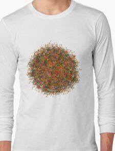 Flower sphere Long Sleeve T-Shirt