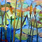 Cattails by artbydelilah