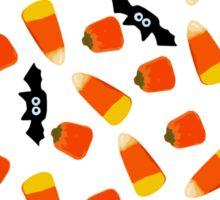 candy corn and bats Sticker