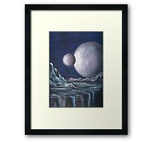 In The Distant Future Framed Print
