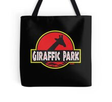 Giraffic Park Tote Bag