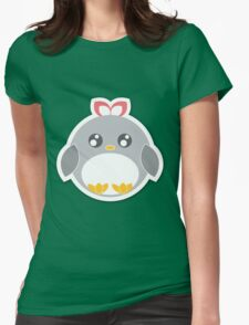 Penguin Ball Womens Fitted T-Shirt
