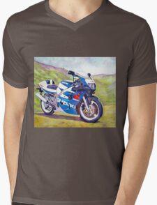 Suzuki Mens V-Neck T-Shirt