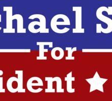 Michael Scott for President Sticker