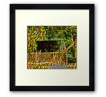 Gawler Shed Framed Print