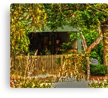 Gawler Shed Canvas Print