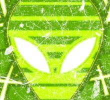 Atomic Alien - Light Sticker