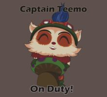 Captain Teemo On Duty! by acosaval