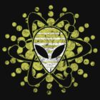 Atomic Alien - Dark by Jeffery Wright