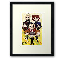 Persona 4 Poster Framed Print