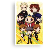 Persona 4 Poster Canvas Print