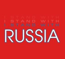 I Stand With Russia Kids Clothes
