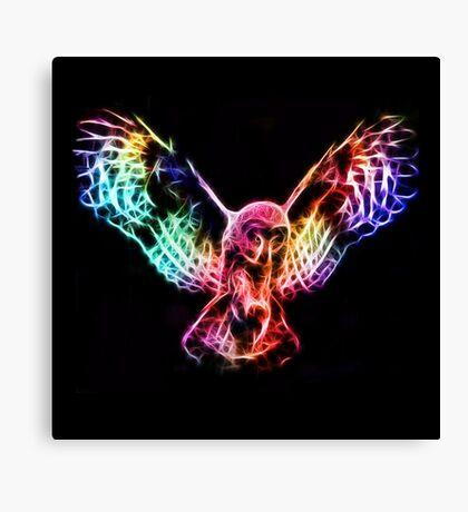 Owl Flying Canvas Print