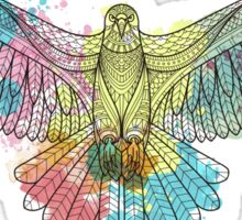 Colorful Eagle Sticker