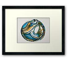 """Sea Vessel, """"Deep Calls To Deep"""" Ocean Series Framed Print"""