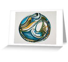 """Sea Vessel, """"Deep Calls To Deep"""" Ocean Series Greeting Card"""