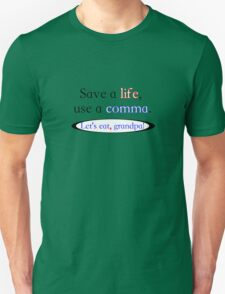 Use a comma T-Shirt