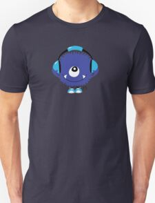 Cute Sound Monster with Headphone T-Shirt