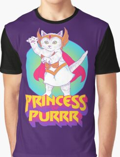 Princess of Purrr Graphic T-Shirt
