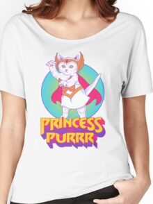 Princess of Purrr Women's Relaxed Fit T-Shirt