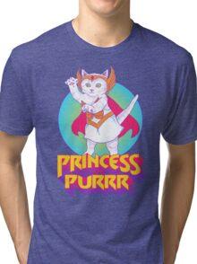 Princess of Purrr Tri-blend T-Shirt
