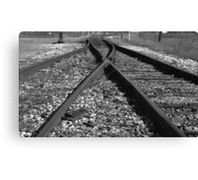 Rail Switch Canvas Print