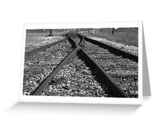 Rail Switch Greeting Card