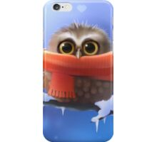 Owl with scarf iPhone Case/Skin