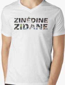 Zinedine Zidane Mens V-Neck T-Shirt