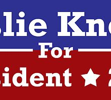 Leslie Knope for President by avazquez
