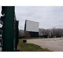 At the drive in Photographic Print