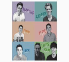 The Crew: Marcus, Alfie, Louis, Sam, Casper ,Jack, and Finn by amberbaugh4