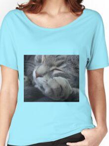 Sleeping kitten Women's Relaxed Fit T-Shirt