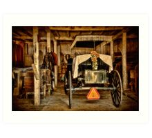 Yet Another Mode of Transportation Art Print