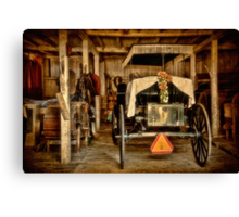 Yet Another Mode of Transportation Canvas Print