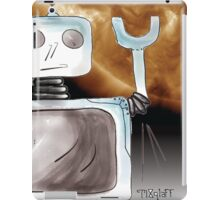 Robot Saves the World iPad Case/Skin