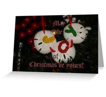 Joy at Christmas Greeting Card