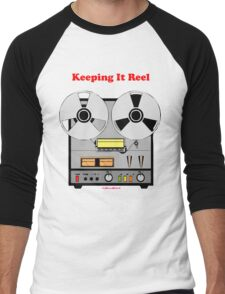 Keeping It Reel Men's Baseball ¾ T-Shirt